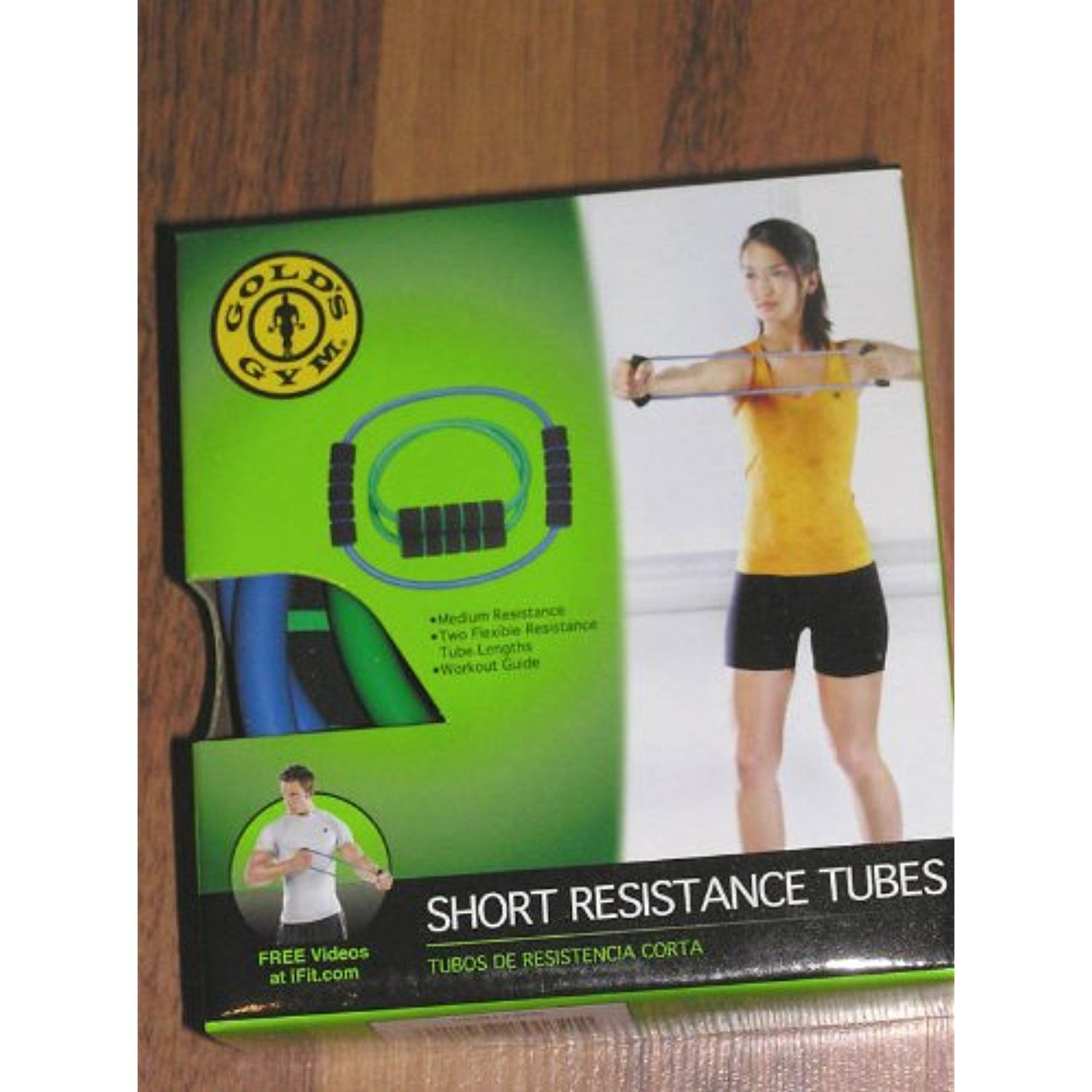 Gold's Gym Short Resistance Tube *** You can get more details by clicking  on the image. (This is an affiliate link) #ExerciseBands