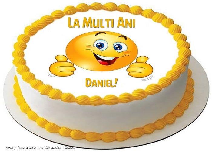La multi ani, Daniel!