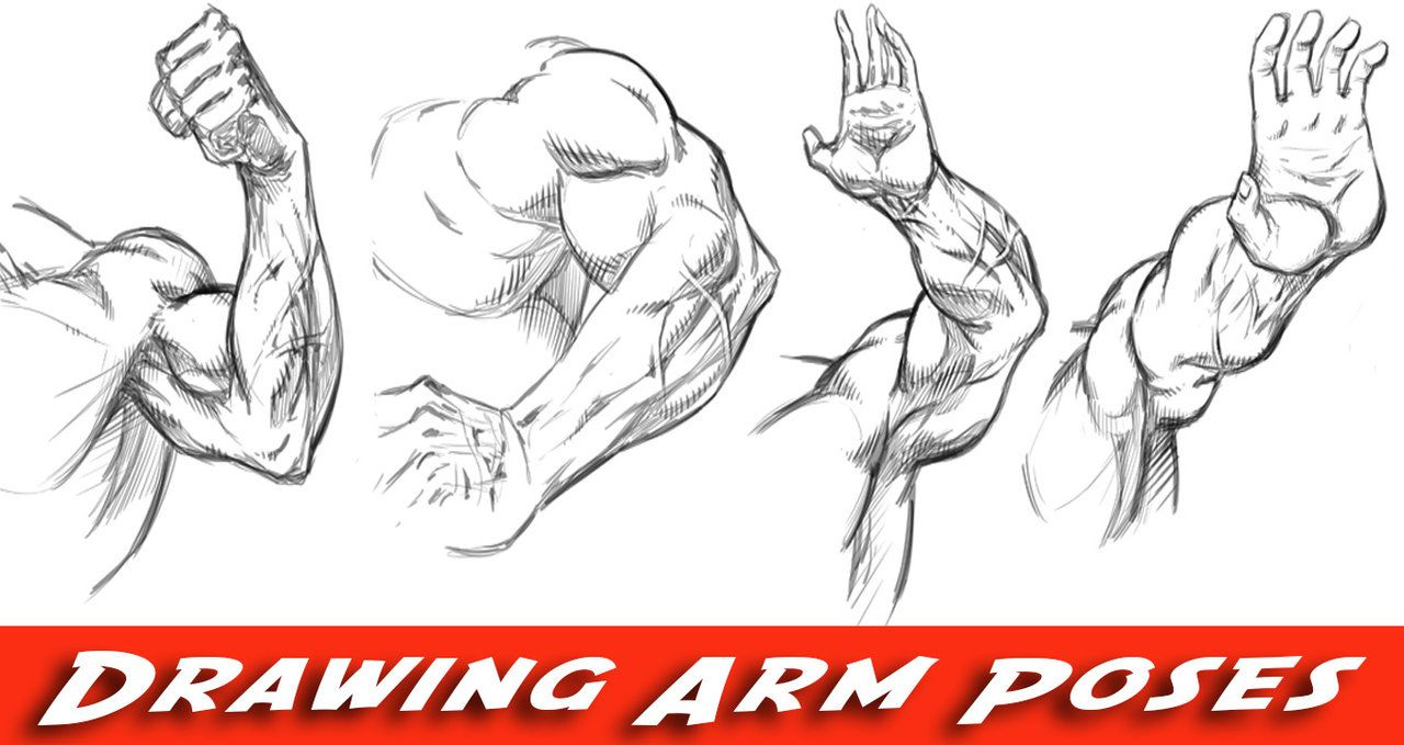 How to Draw Arms - Comic Book Style by ramstudios1.deviantart.com ...