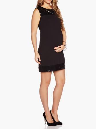 Robe de maternité à paillettes / Sequin Maternity Dress