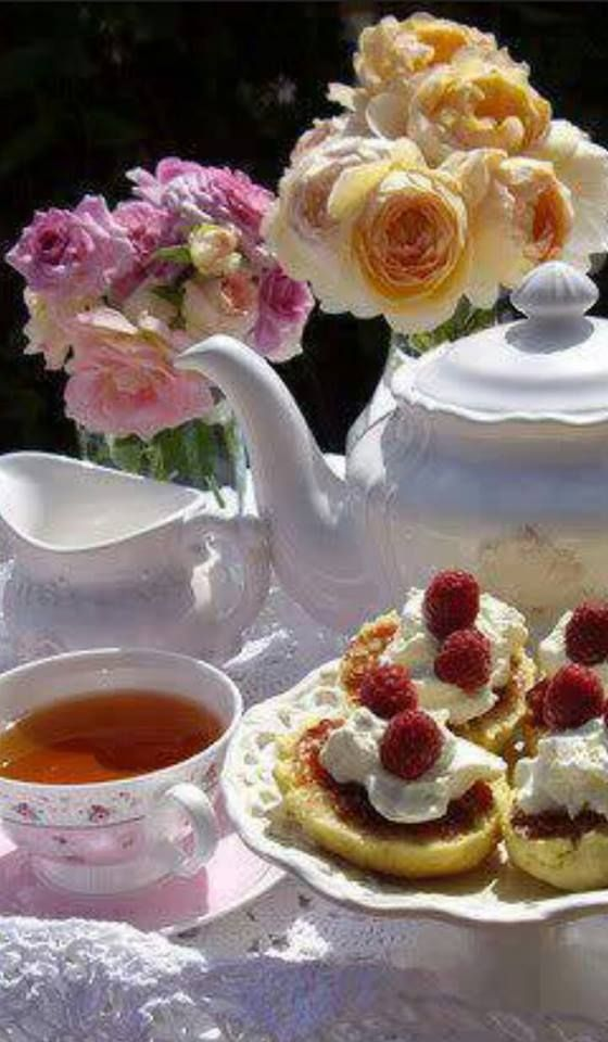 Time for tea....