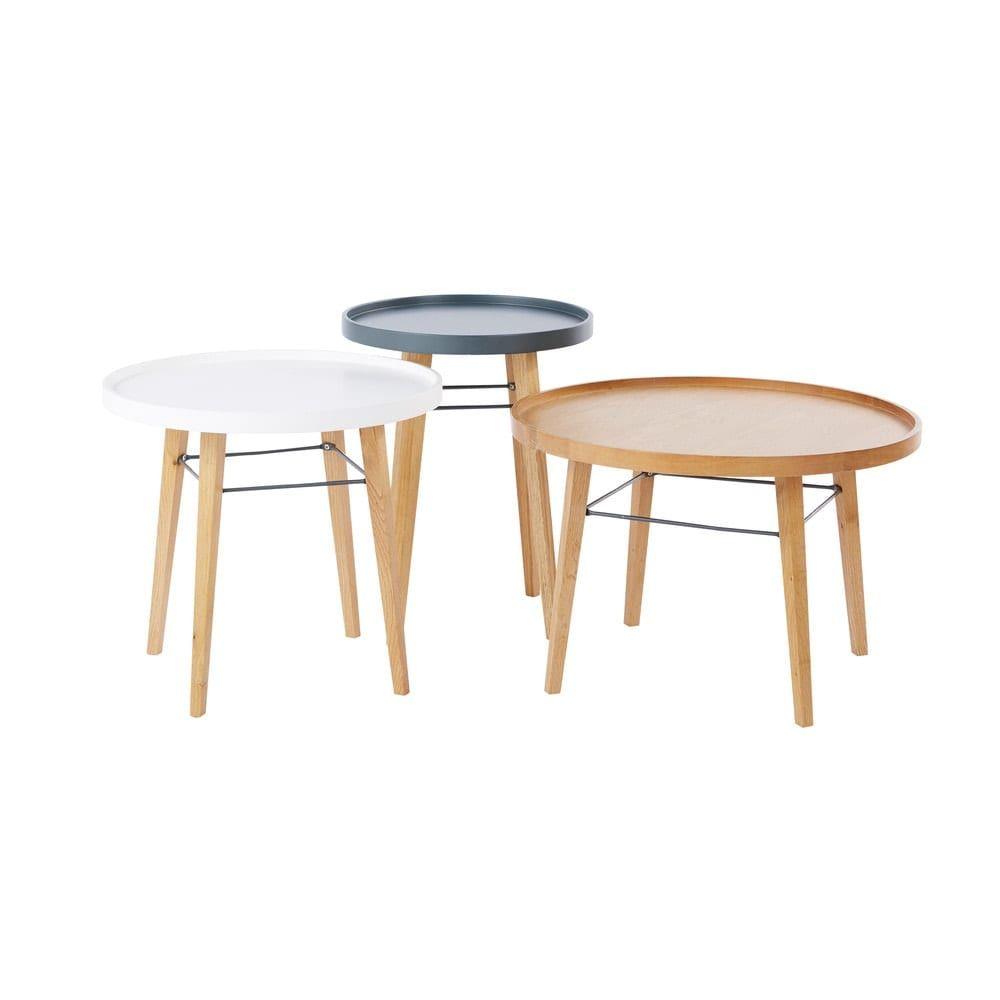 Tavolini Salotto Maison Du Monde.3 Tavolini Da Salotto In 2019 3 Coffee Tables Table Dining