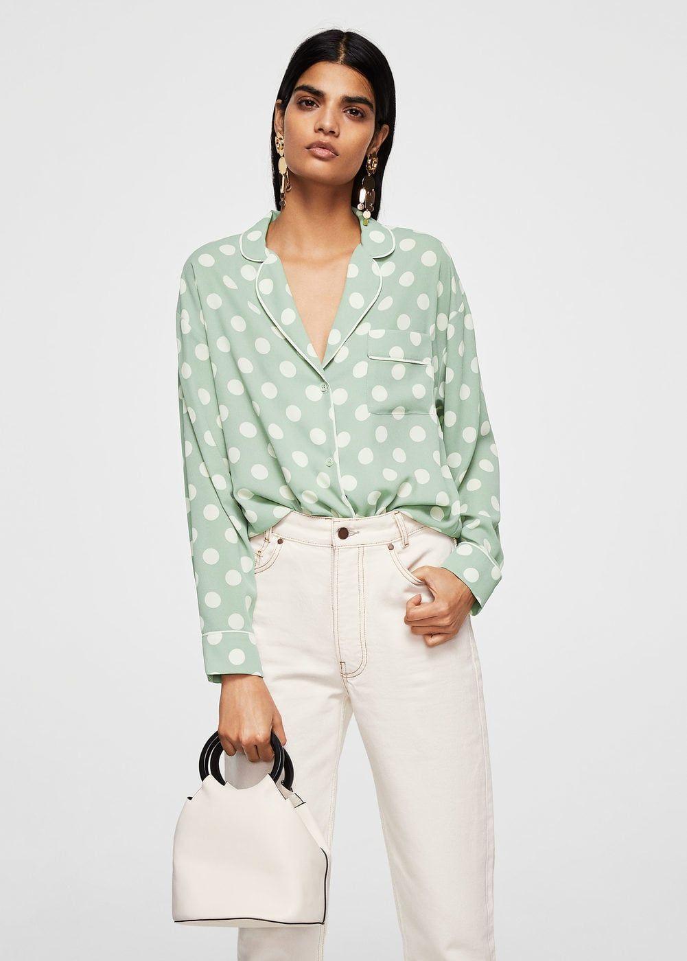 Camisetas Lunares Clothes De Camisas Blusas Y Blusa Mujer OAdPYxwYq