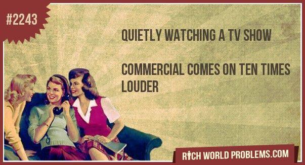 soooo annoying if i wanted the tv loud i would have it loud sheesshh!!!