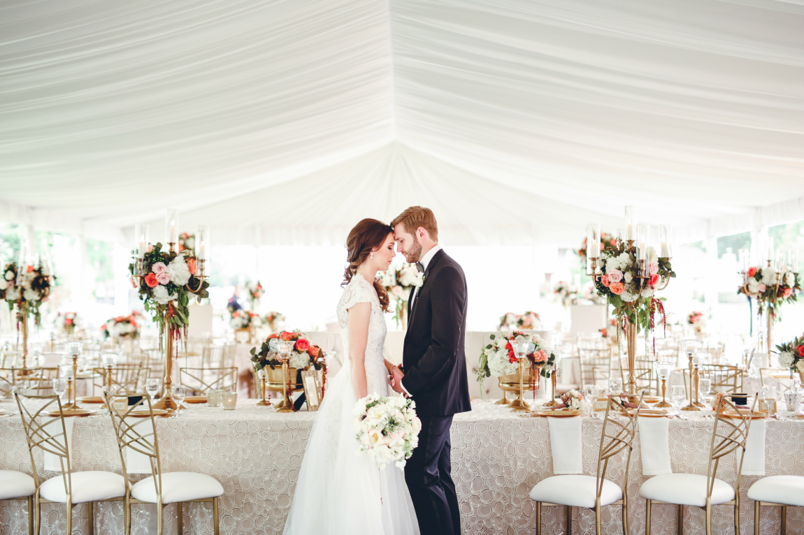 Real Wedding - Becca & Matt | Pinterest | Tent wedding, Real ...