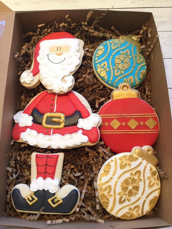 Decoration Biscuit Noel.Le Monnier Du Biscuit Pere Noel Christmas Cookies Cookie