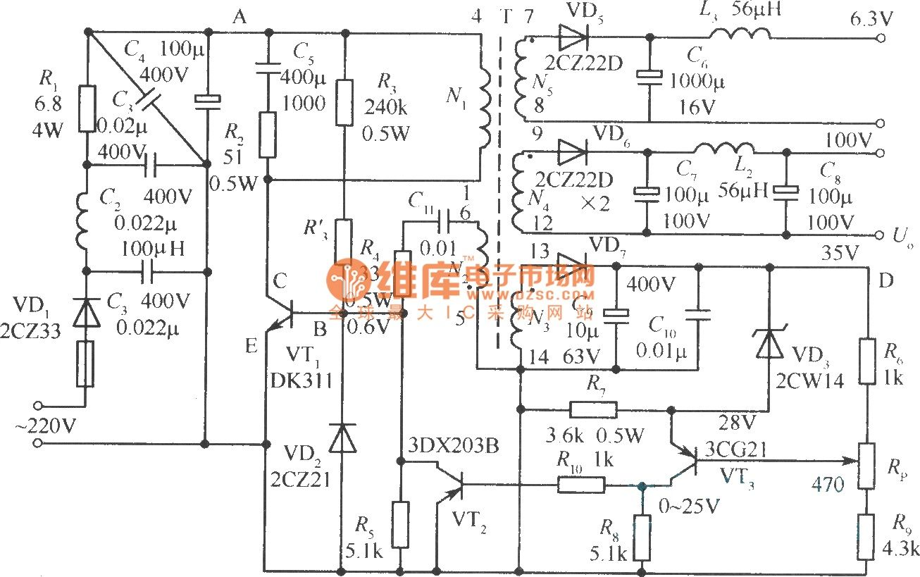Power Supply Page 24 Circuits Nextgr Alte Surse Car Circuit 15 Automotive