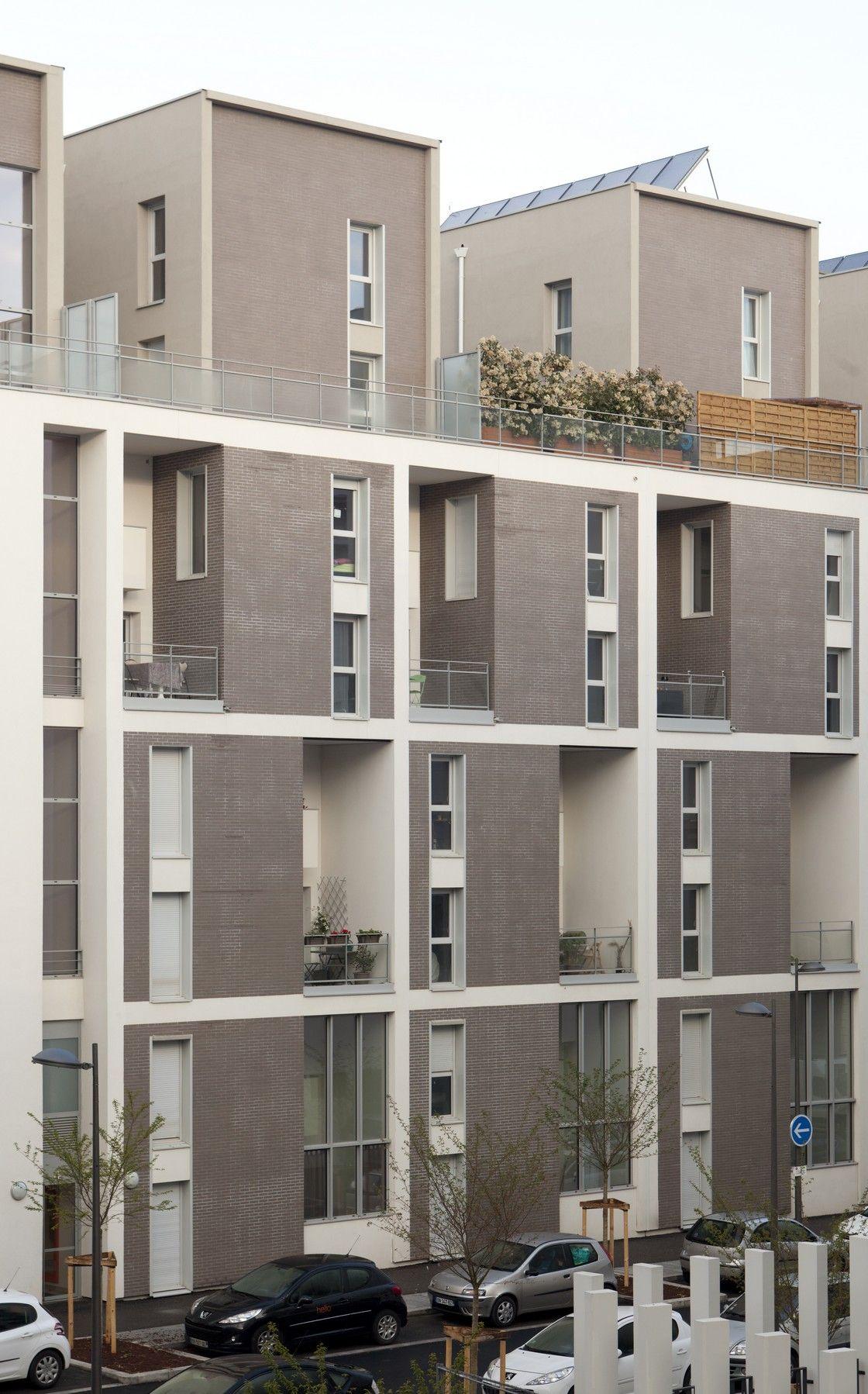 Atelier De La Passerelle | Evolution, Densifying The City 145 Apartments In  Lyon