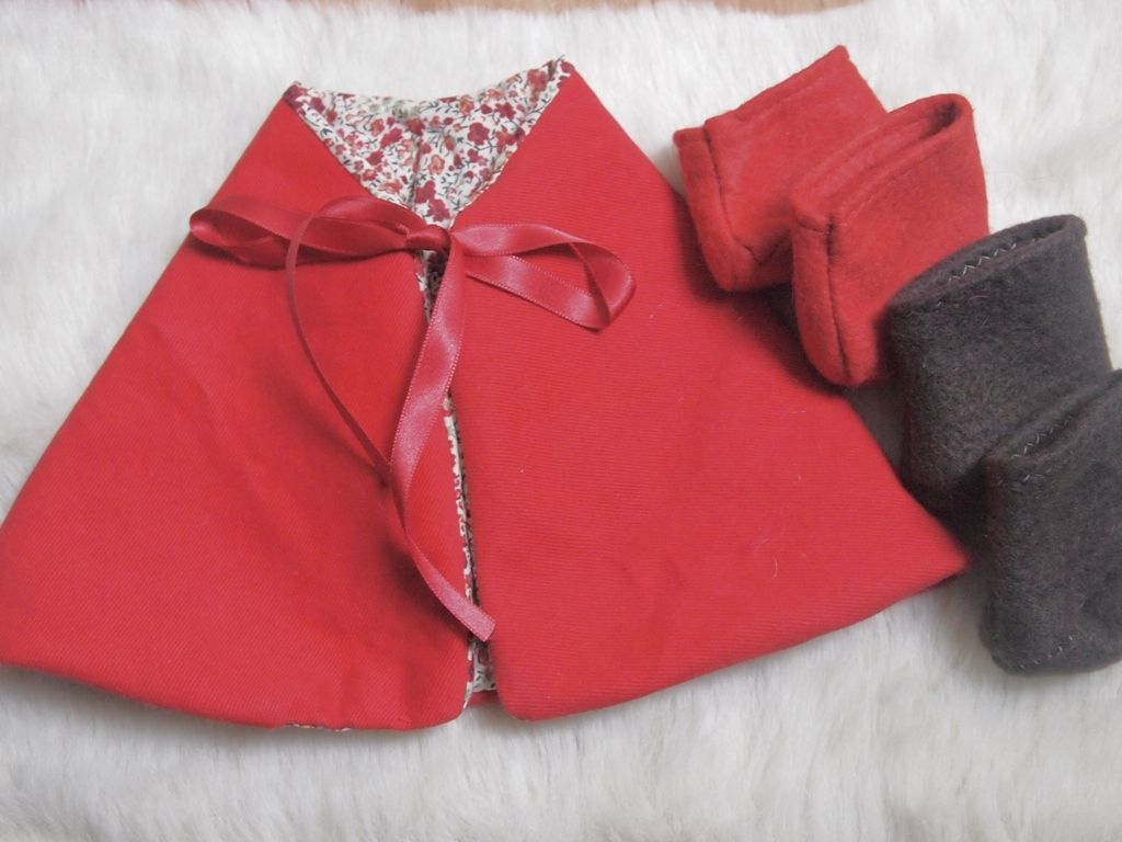 Clothes for a waldorf doll