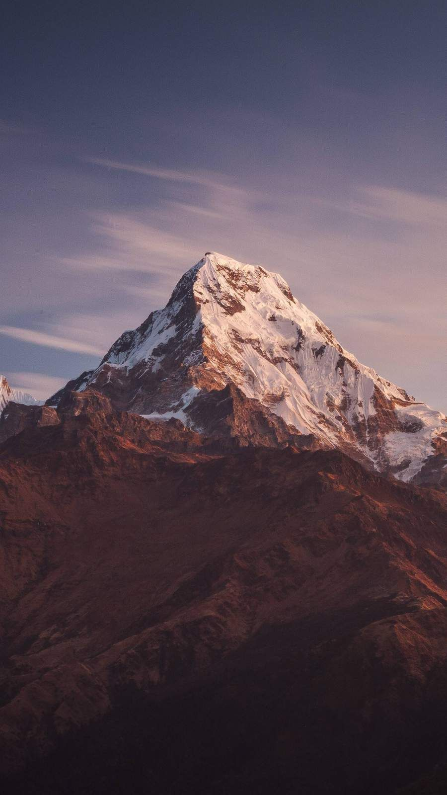 Snow Mountain Nature iPhone Wallpaper - iPhone Wallpapers