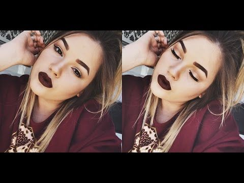 Khloe Kardashian Makeup Tutorial ♡ - YouTube