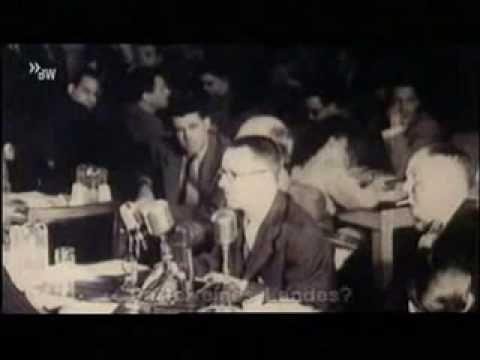 Bertolt Brecht Speaks In The House Committee On Un American Activities Youtube American Ludwig