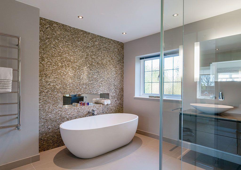 Woldingham   Modern small bathrooms, Narrow bathroom ...