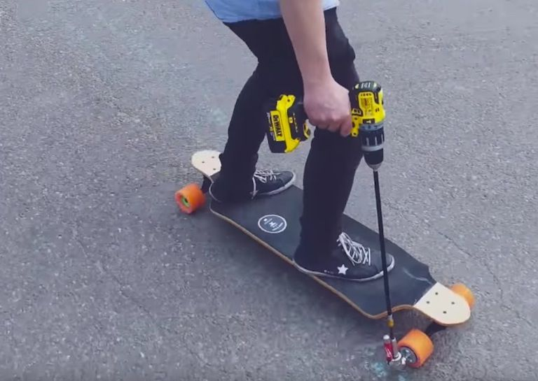 Electric Skateboard Diy Electric Skateboard Powered Skateboard Skateboard