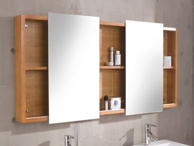 Badm bel set waschtisch massivholz badschrank spiegel for Badmobel set massivholz