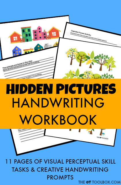 Hidden Pictures Are A Great Way To Work On The Visual Perceptual Skills Needed In Ha Visual Perception Activities Handwriting Analysis Improve Your Handwriting