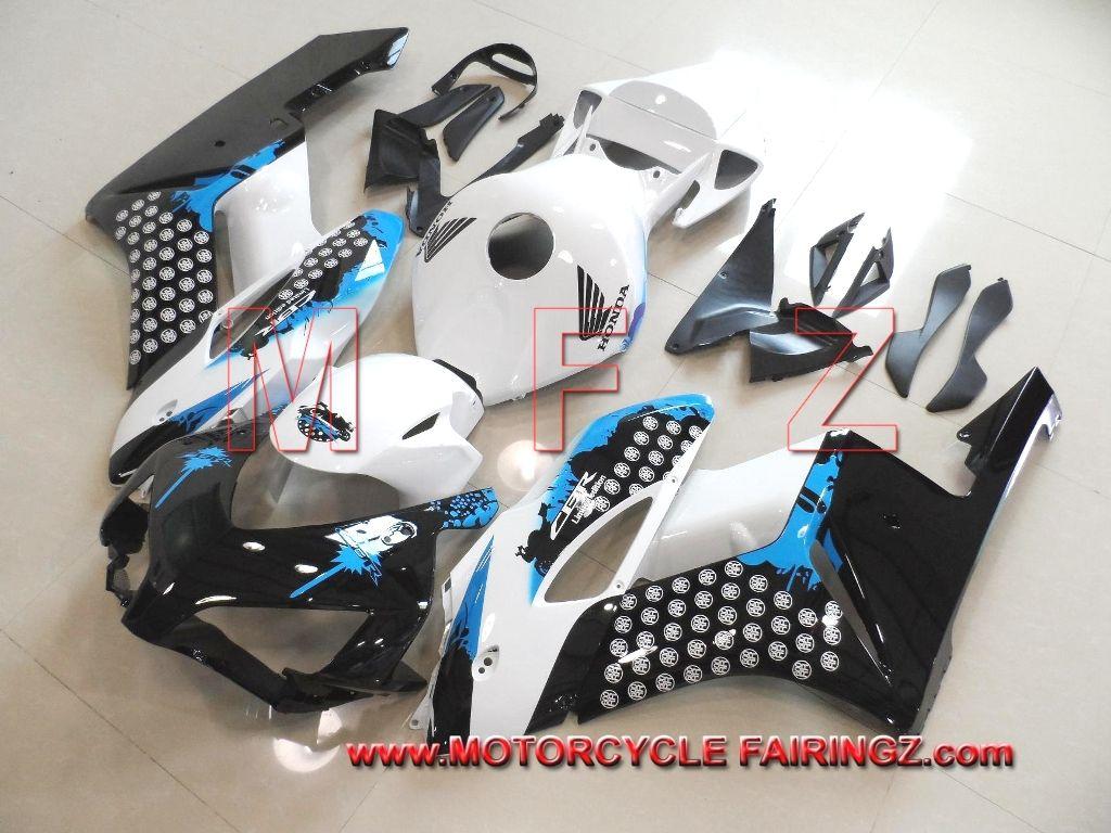 2004 2005 honda cbr 1000rr abs motorcycle fairing kit black blue white ffkhd019