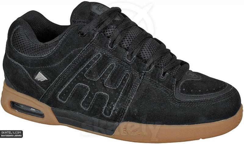 b195009342 Emerica - Ellington - Black/Black/Gum | Skate shoes in 2019 | Shoes ...
