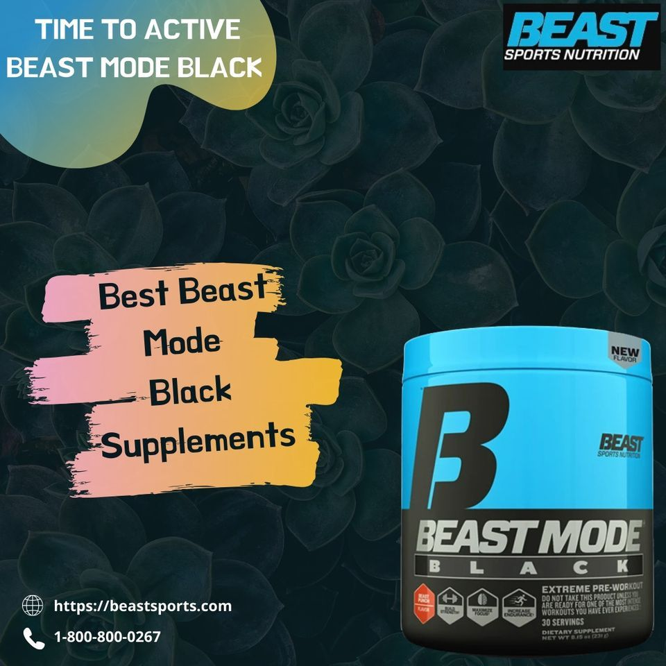Beast Mode Black In 2020 Best Pre Workout Drink Good Pre Workout Workout Supplements