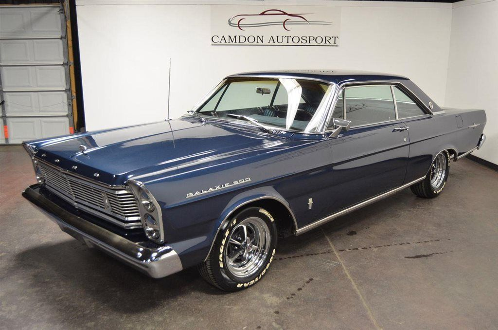 1965 Used Ford Galaxie 500 Ltd 2 Door Fastback 352 Cid V8 At Camdon Autosport Serving Raleigh Nc Iid 12439221 Ford Galaxie 500 Ford Galaxie Ford Classic Cars