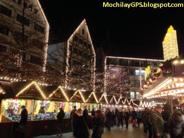 Mochila y GPS: Consejos para visitar los mercadillos de Navidad en Alemania