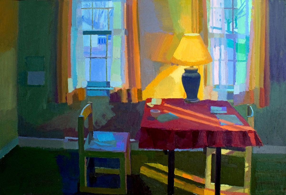 """Contemporary Painting - """"Ripening Light"""" (Original Art from Jennifer O'Connell)"""