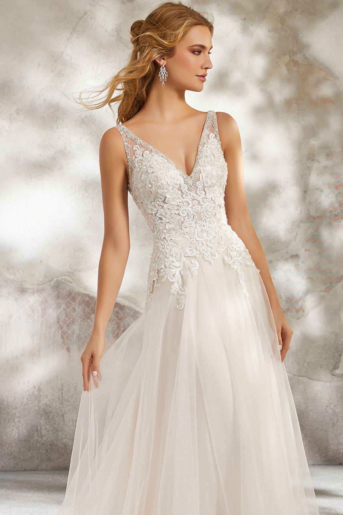 Mori Lee 15 Ivory Champagne  Kleid hochzeit, Couture