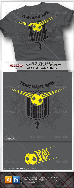 Design your own t-shirt bristol - Soccer Team Shirt