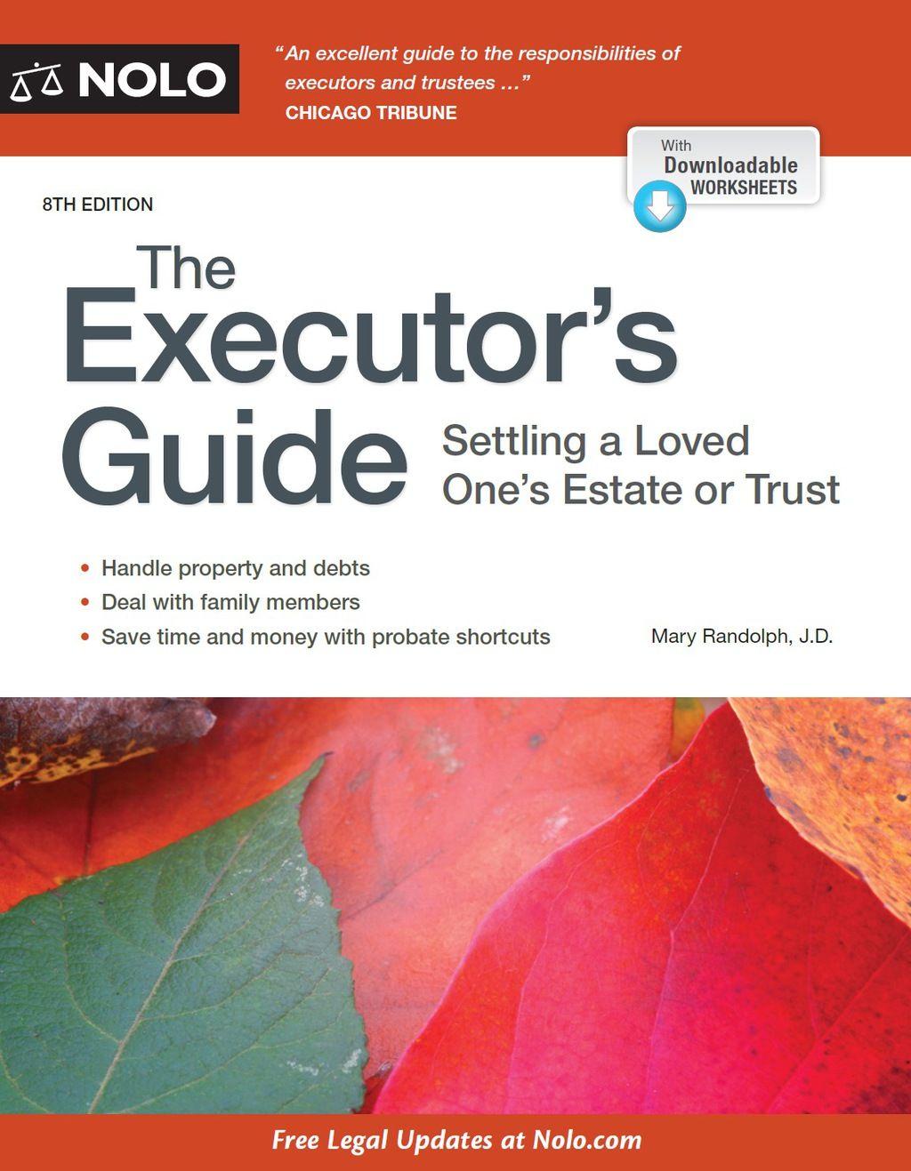 Executor S Guide The Ebook Ebook Pdf Price Book Free Ebooks
