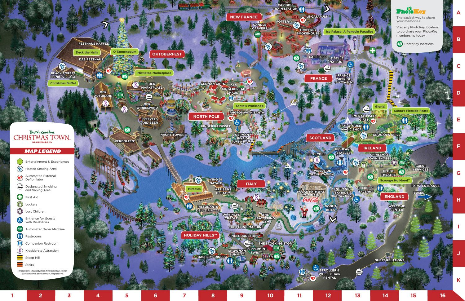 b12baa2f8d5b3cea44bb7f3e3da0a3ee - Busch Gardens Christmas Town 2019 Map