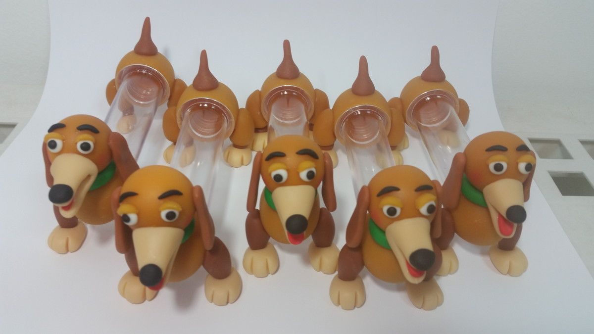 tubete em biscuit toy story cachorro festa infantis pinterest