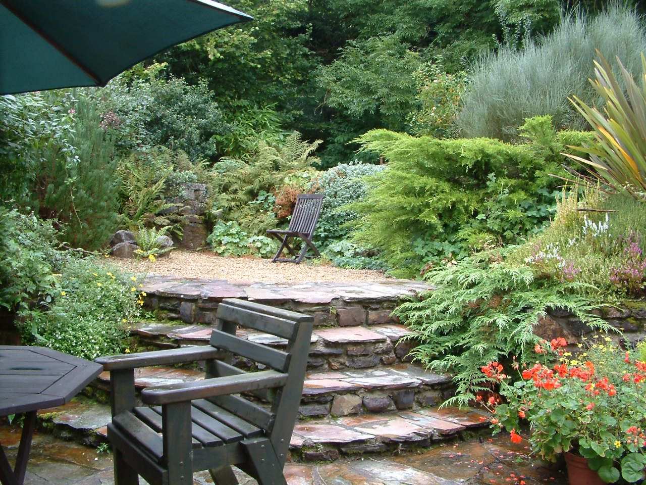 Garden Terrace Wonderful For Your Home Design Furniture Decorating ...