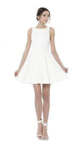 Emerson Box Pleat Dress | Dresses | Alice + Olivia