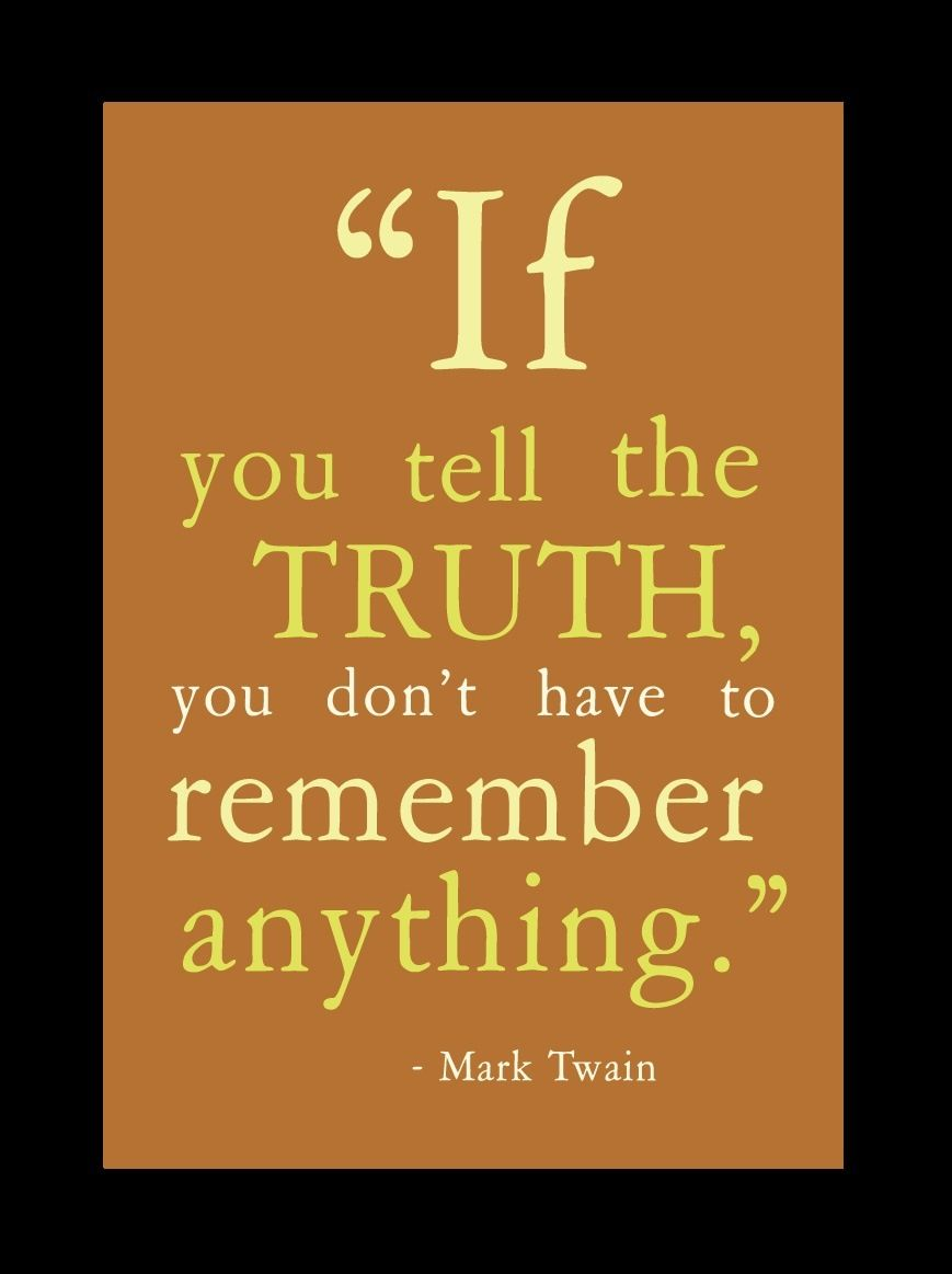 Now this should be taught to Psychopaths who have a terrible memory of all of the lies and stories they tell!!!!