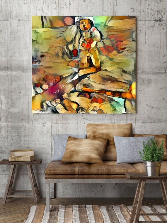 Applemoon unique canvas artwork in cézanne by fusionartworks canvas art modern fineart