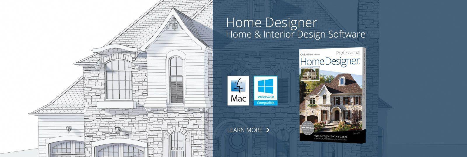 Home Design Software Chief Architect Interiordesignsoftware