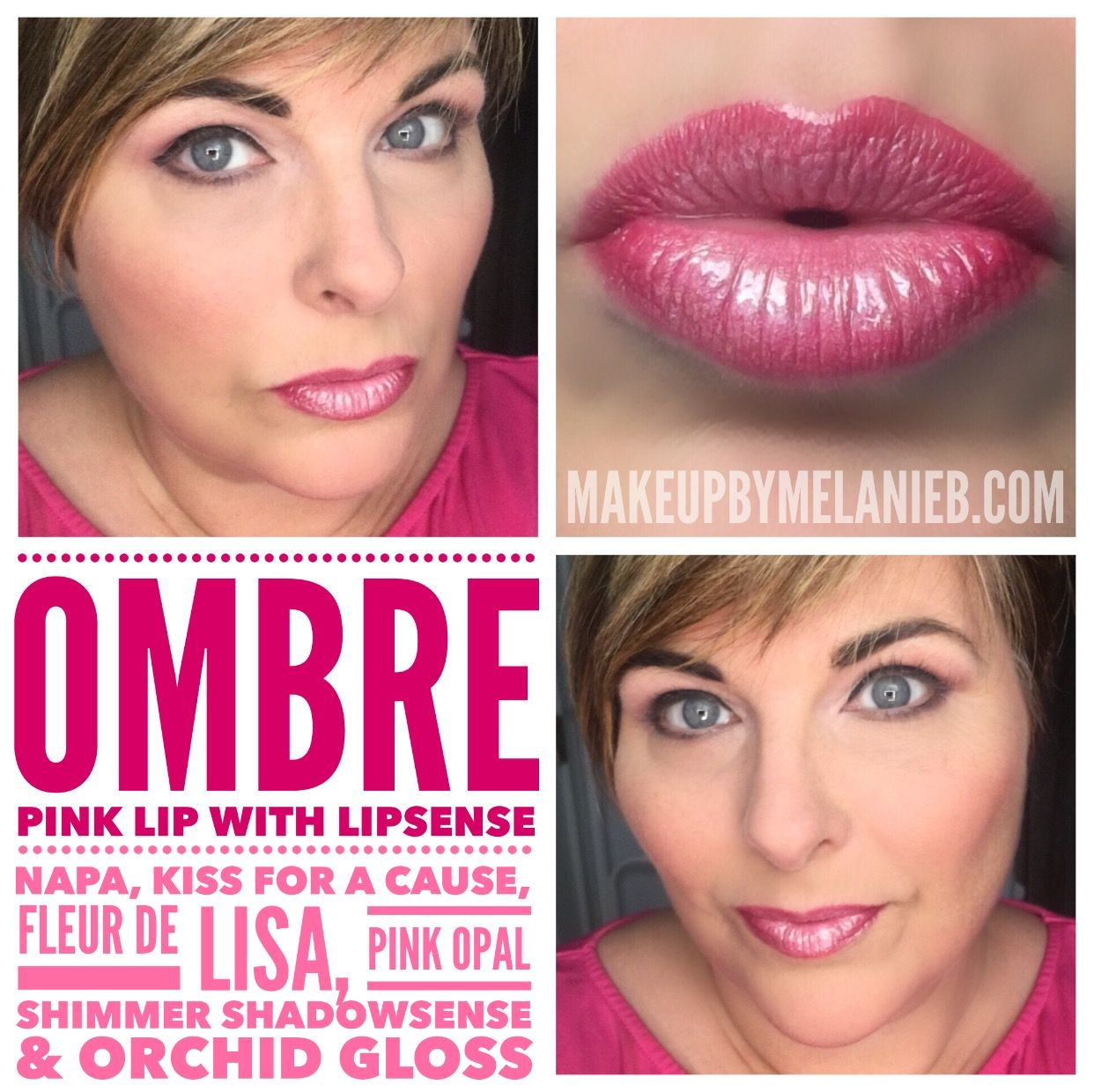 LOVED how this pink ombre lip turned out! See the tutorial in my