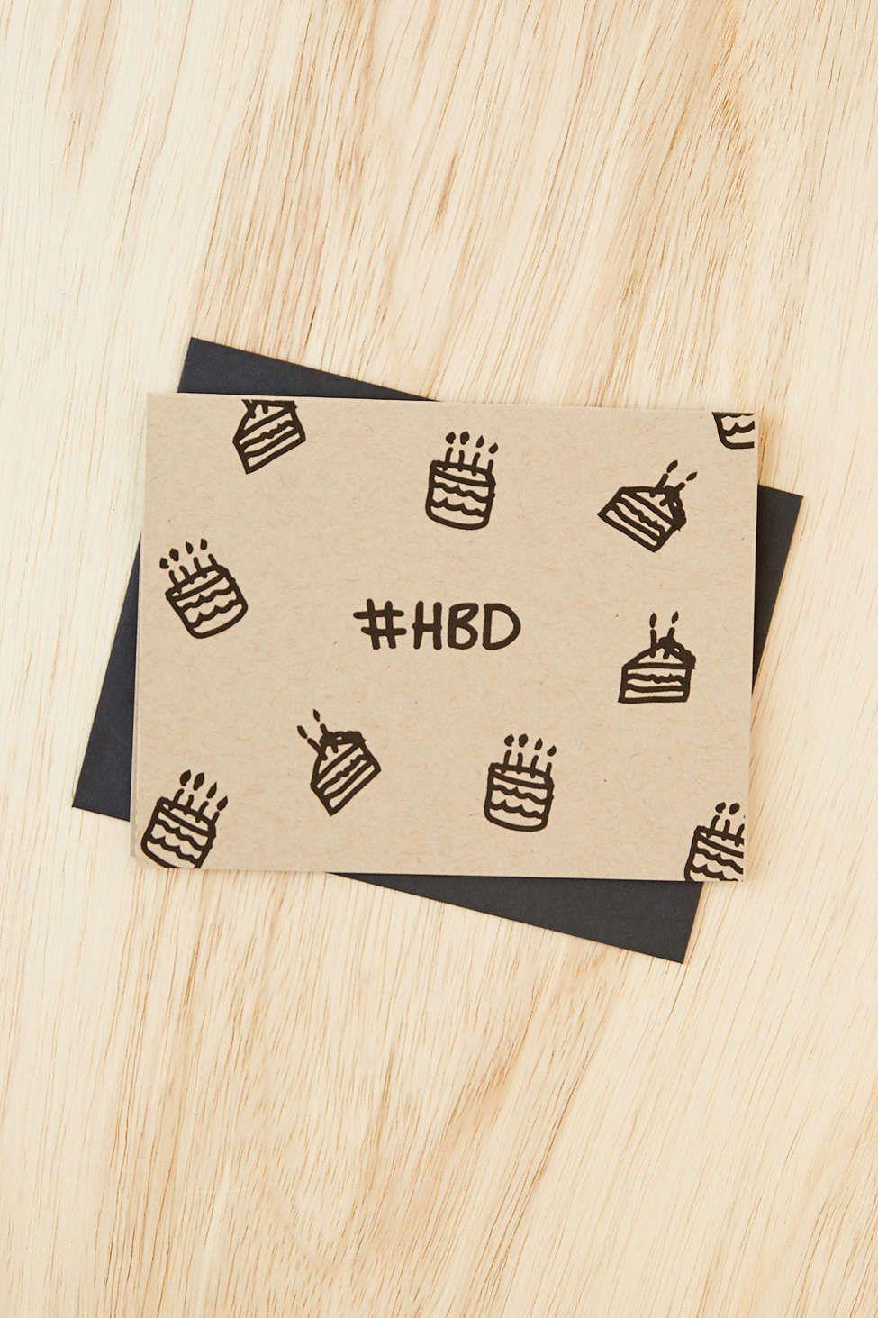 daydream prints hbd card  greeting card shops happy