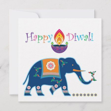 Happy Diwali Number 9 Greeting Card | Zazzle.com