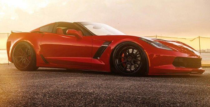 Mid America Motorworks >> Lowered Chevrolet Corvette Z06 on ADV10 Track Spec CS ...