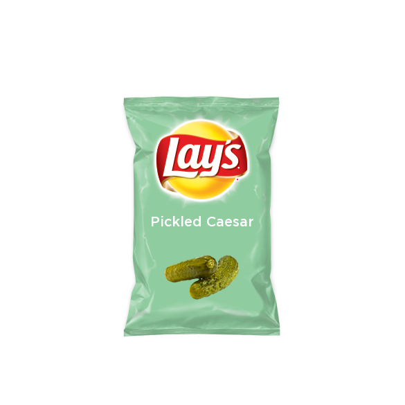 Inspired by a friend who makes the best Caesar's in the world! I just created Pickled Caesar on Lay's Original for #DoUsAFlavourCanada. What's your flavour idea? Create the next great Lay's flavour & you could win† $50k + 1% of your flavour's future sales†† http://lays.ca/flavour