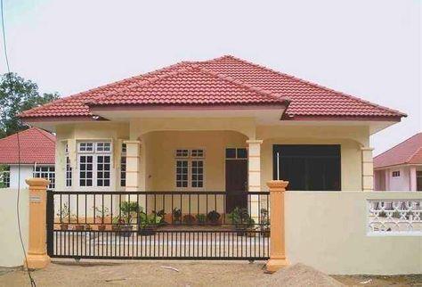12 contoh gambar model rumah minimalis atap limas desain