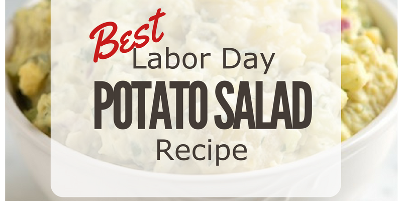 We all know that #LaborDay officially marks the last day of #summer grilling and cook outs and you can't have a Labor Day celebration without potato salad! This #potatosalad recipe is easy and you customize it to your liking!