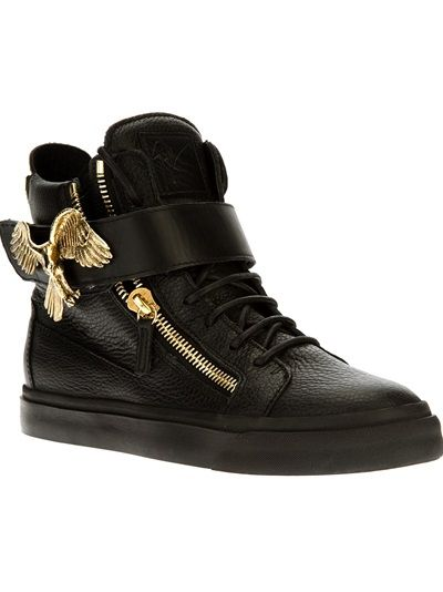 0e6829ffb31ca Giuseppe Zanotti Design Hi-Top Trainer | Men's apparel in 2019 ...