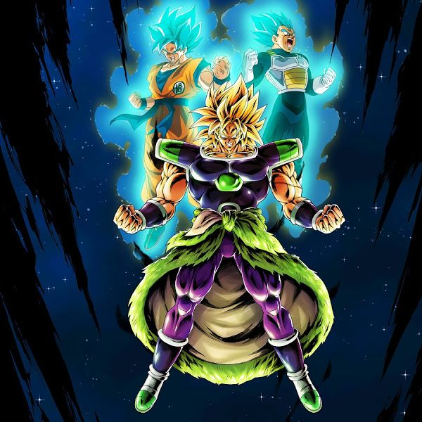 Broly, Goku, Vegeta, Dragon Ball Super Broly, 8K