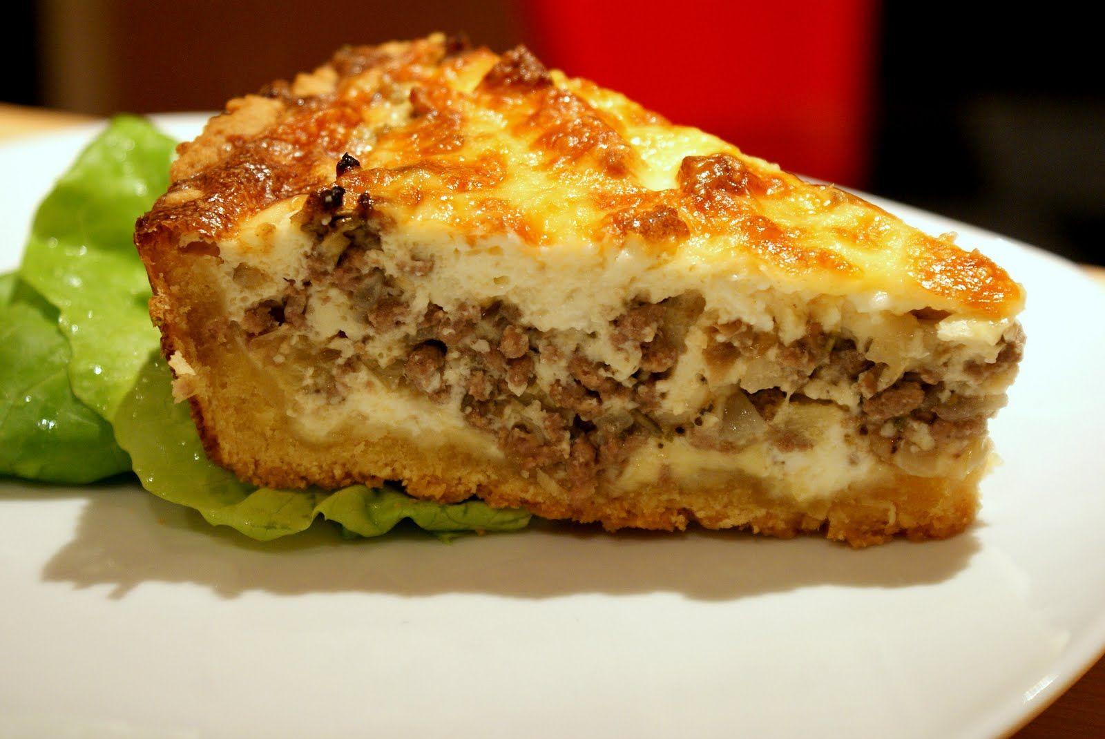 Quiche à la viande hachée - Recettes du monde | Viande hachée, Recette quiche, Recettes de cuisine