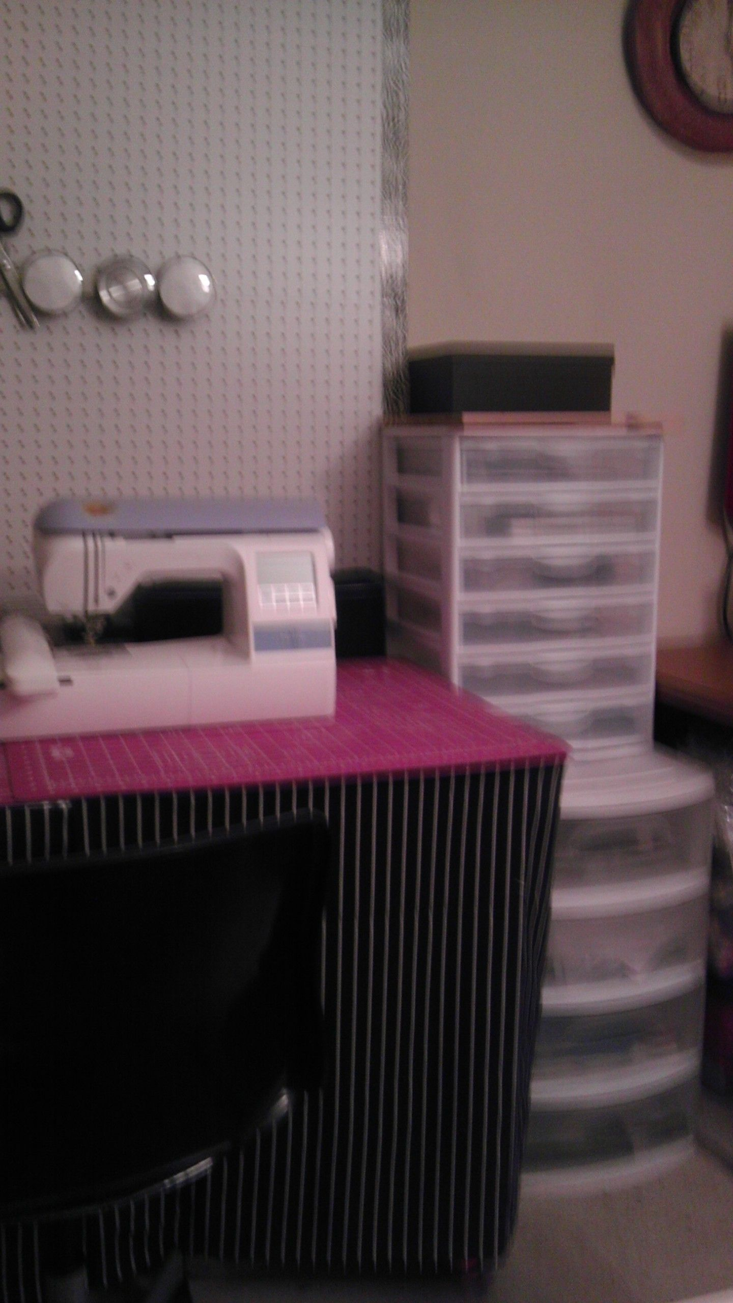 Embroidery Supply Storage