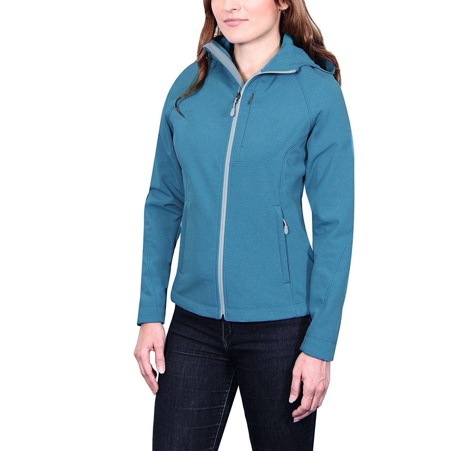 Kirkland Signature Softshell Hooded Womens Jacket This Is An Amazon Affiliate Link You Can Get More Details By Jackets For Women Coats Jackets Women Jackets [ 1500 x 1500 Pixel ]