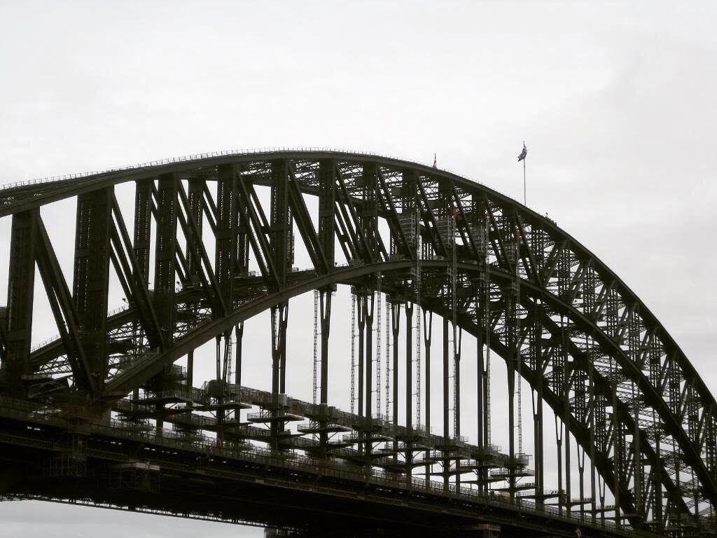 #mypics #sydneyharbourbridge #sydney by dani_blondy http://ift.tt/1NRMbNv