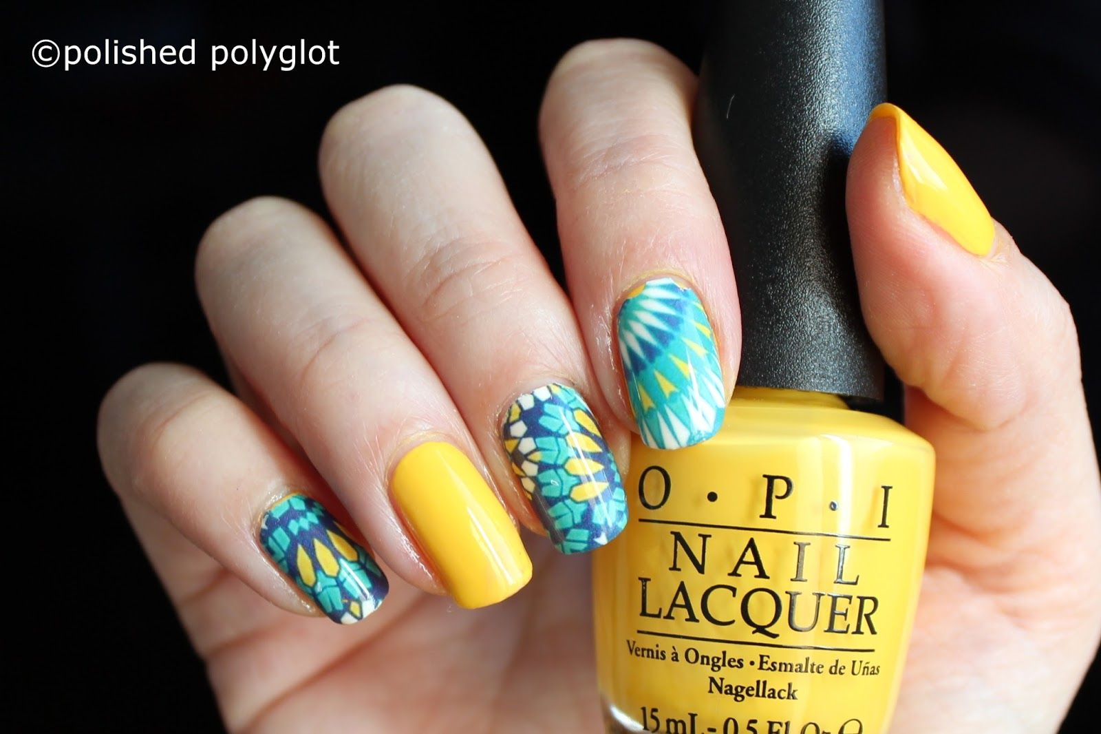 Nail art │ Green Freestyle design [26GNAI] | Pinterest | Style ...